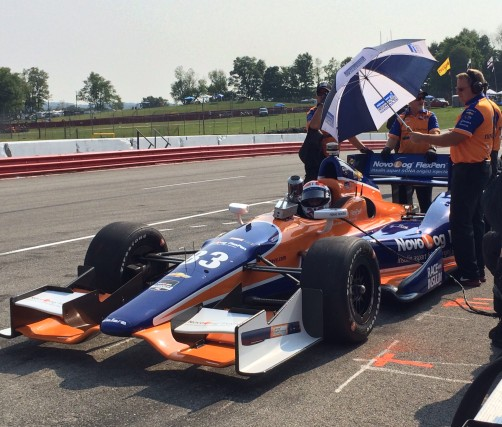 Back to the orange and blue for Mid-Ohio!