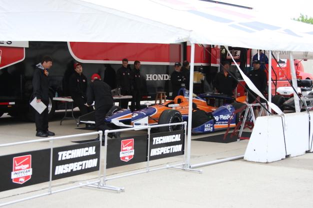 Tech Tuesday: IndyCar technical inspection