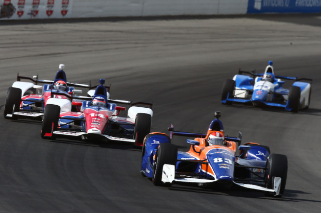 Kimball's race weekend: Highs, lows and relief
