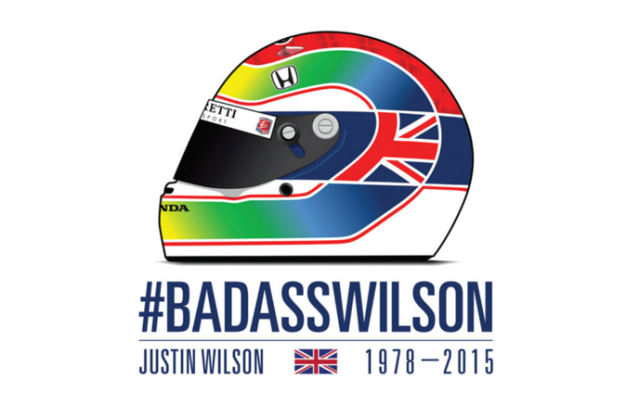 Wilson tribute T-shirt available online and at track along with online portal for Wilson Children Fund contributions