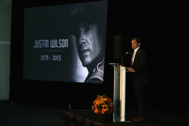 INDYCAR community honors Wilson with celebration