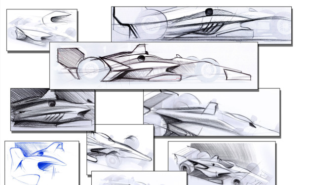 INDYCAR unveils initial concepts for 2018 car look