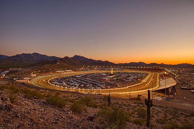 Phoenix Raceway project plans include start/finish line in turn 2