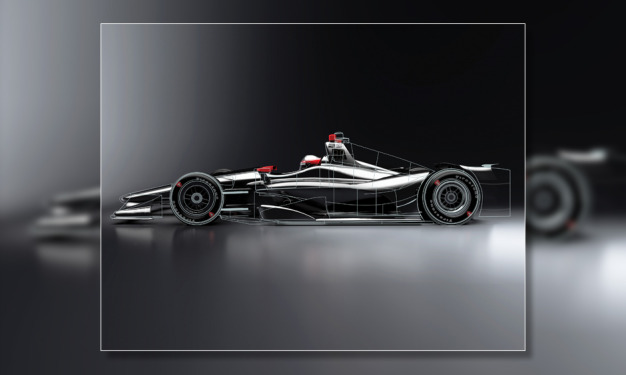INDYCAR unveils new images of 2018 Verizon IndyCar Series car design