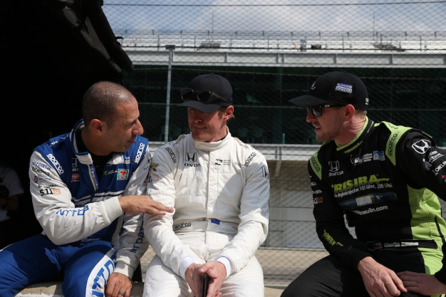 Ganassi gets reacquainted with Honda on famous Indy oval