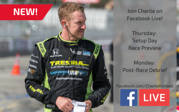 Facebook Live race weekend