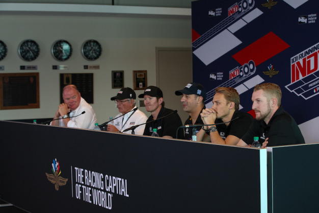 Ganassi team confident amid high expectations for Indy 500