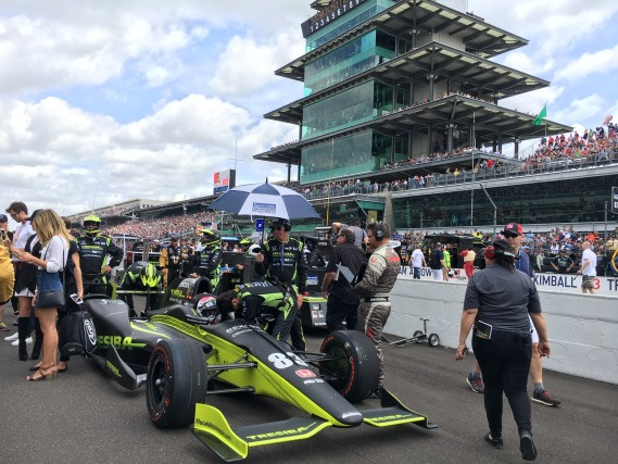 Live from the Indianapolis 500