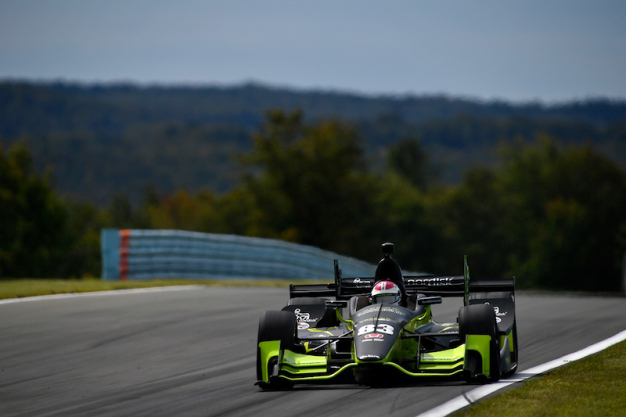 Kimball buoyed by first Fast Six performance